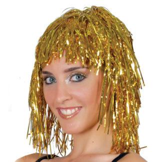 Parrucca disco oro