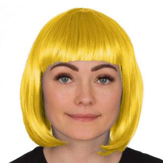 Parrucca liscia gialla