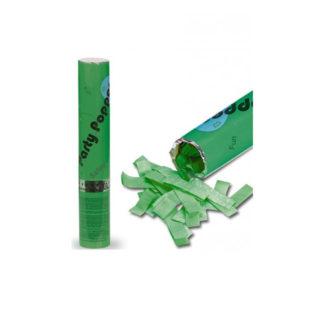 Tubo sparacoriandoli verde cm. 30