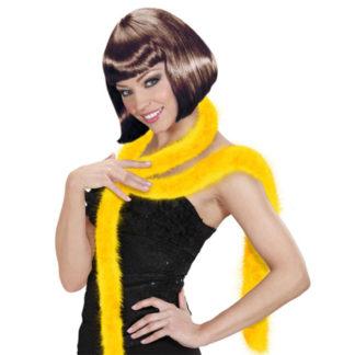Boa marabou giallo
