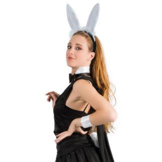 Set coniglietta Play Boy bianco