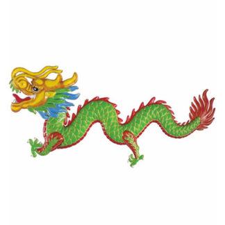 Decoro dragone 3D cm 100