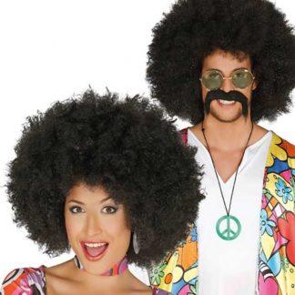 Parrucca Afro Maxi nera