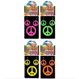 Set collana e orecchini Hippie