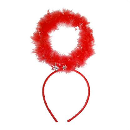Aureola angelo lusso rossa