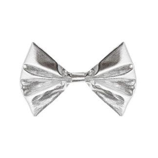 Papillon argento metallizzato