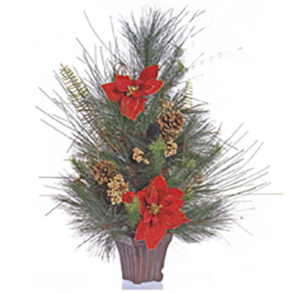 Alberino di Natale Red Star cm 70