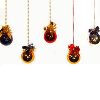 Pallina di Natale decorata mm. 100