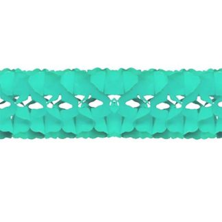 Festone in carta verde chiaro mt 5