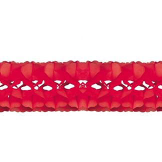 Festone in carta rosso mt 5
