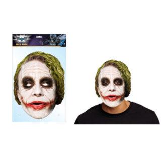 Maschera Joker in cartoncino