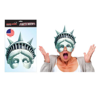 Maschera Statua della Libertà in cartoncino