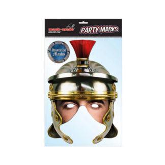 Maschera gladiatore Romano in cartoncino