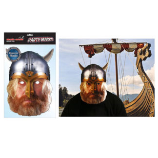 Maschera Vikingo in cartoncino