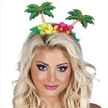 Cerchietto Hawaii con Palme