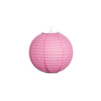 Globo lanterna in carta rosa cm 25