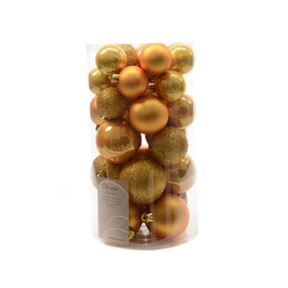 Box 30 Palline di Natale Gold Intense