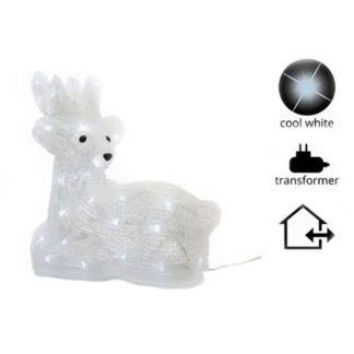 Acrylic ice cervo cm. 26