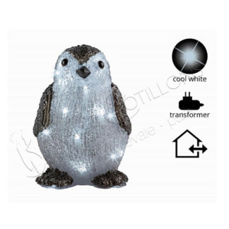 Pinguino luminoso con led nk303-bigger