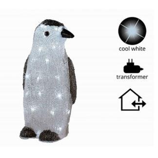 Acrylic ice pinguino cm. 38