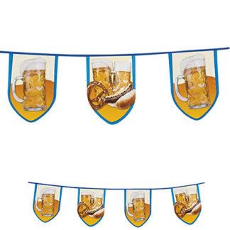 Bandierine festa della birra maxi pvc mt. 8