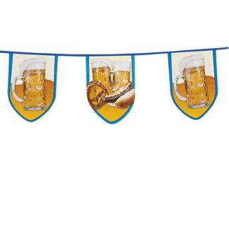 Bandierine Maxi festa della birra mt. 8