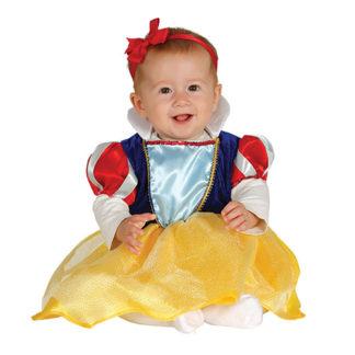 Costume stile Biancaneve Baby 12/24 mesi
