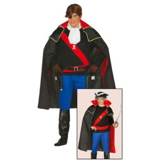 Costume Corsaro stile Capitan Harlock