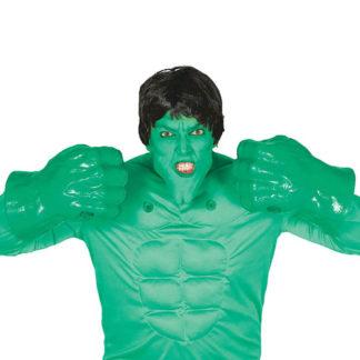 Pugni verdi stile Hulk