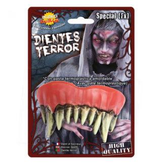 Dentiera Mostruosa in Termoplastica