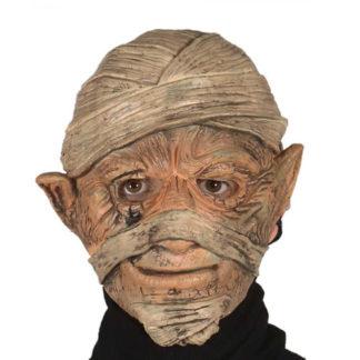Maschera mummia con effetto movimento