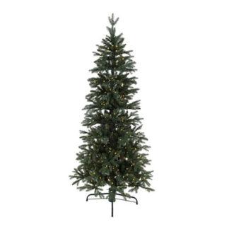 Albero di Natale verde luminoso con movimento cm 180