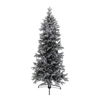 Albero di Natale innevato con movimento cm 180