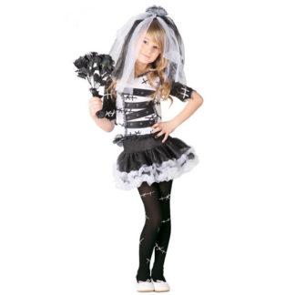 Costume Sposina Dark bimba 7 - 9 anni