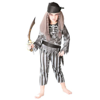 Costume Scheletro Pirata bimbo 7 - 9 anni
