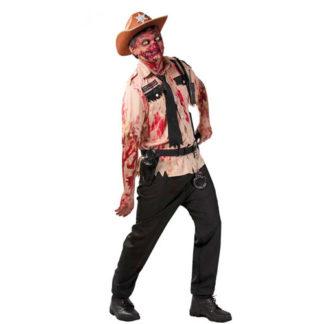 Costume poliziotto zombie