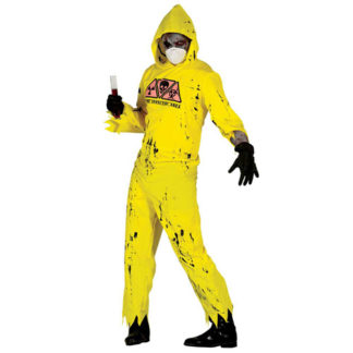 Costume zombie radioattivo