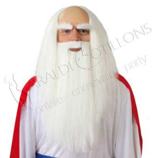 set da druido parrucca con pelata barba vk094x