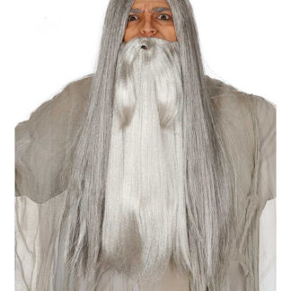 Barba lunga stile Gandalf