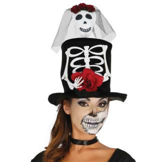 Cilindro con sposa scheletro