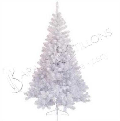 Albero Di Natale Bianco.Albero Di Natale Imperial Bianco Cm 210