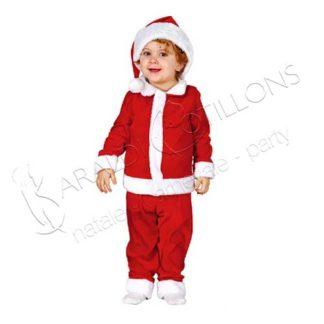 Costume Babbo Natale baby tk088x