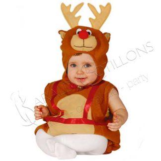 Costume da Renna Natalizia baby tk090x