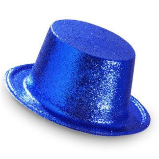Cilindro Glitter Blu