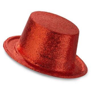 Cilindro Glitter Rosso