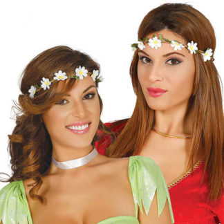 Coroncina Hippie con fiorellini