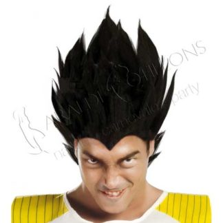 Parrucca stile Vegeta Dragon Ball vk295x