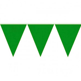Bandierine PVC Verde mt 10