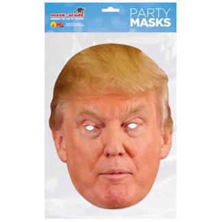 Maschera Donald Trump in cartoncino