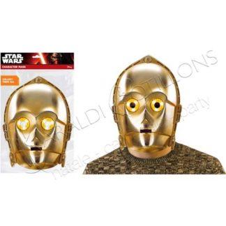 Maschera C-3PO Star Wars mk161